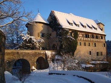 Burg Rabenstein im Winter