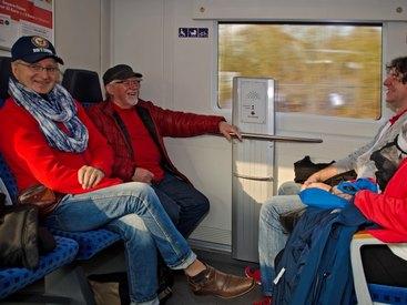 Reisen mit der Bahn - die Zeit gehört Dir.