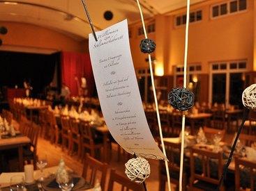 Saal für Events, Feiern und Tagungen