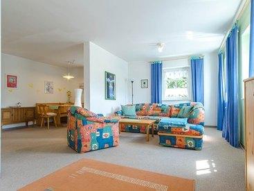 Wohnzimmer Ihrer Ferienwohnung in der Fränkischen Schweiz