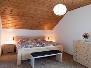 Frankenwald Ferienhaus Eisel Schlafzimmer