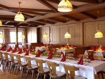 Feiern im Gasthof Hochries in Frasdorf