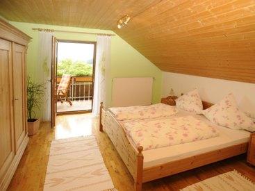 Schlafzimmer der Fewo II