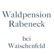 Logo Waldpension Rabeneck Cafe & Restaurant