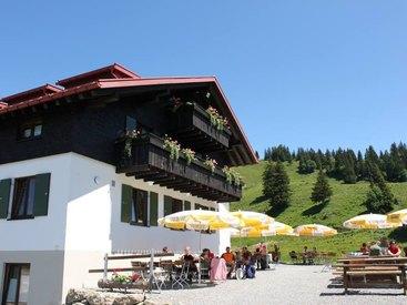 Herzlich Willkommen im Berggasthof Falkenhütte in Oberstaufen im Oberallgäu
