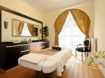 Behandlungsraum im Ising Spa & Wellness