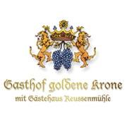 Logo Gasthof Goldene Krone mit Gästehaus Reussenmühle