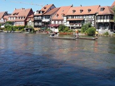 Bamberg,UNESCO Welterb,besitzt einen ursprünglichen Charakter und Atmosphäre