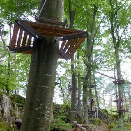 Team Challenge Betzathlon: ArrowTag, Kletterwald und Kettenreaktion