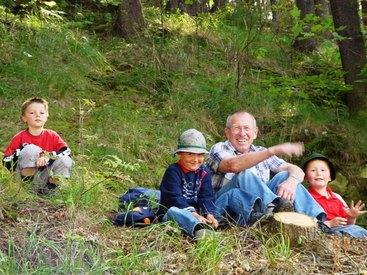 Bad Steben Ferienwohnung Heger wandern im Frankenwald
