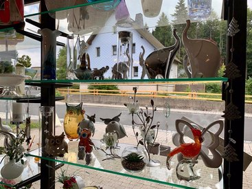 Klingel's Glasladen in Fichtelberg-Neubau