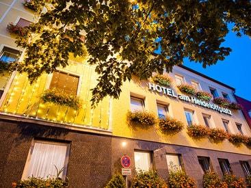 Außenansicht Hotel am Heideloffplatz