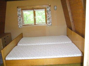 Kleine Hütte Innenansicht