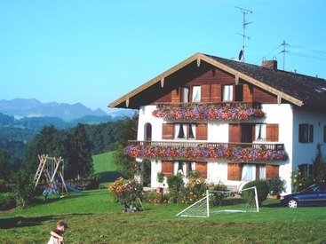 Donauerhof in Frasdorf - im Sommer