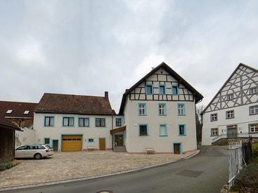 Außenansicht Gästehaus des Hotel Krone in Gößweinstein