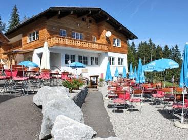 Berggasthof Bergkristall Oberstdorf im Sommer