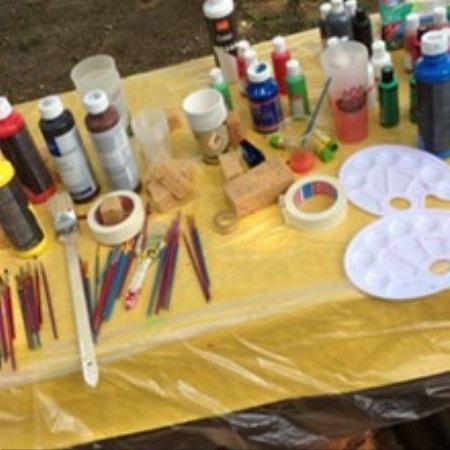 Cube-Painting - Die neue Team-Painting-Variante: Malen auf Holzwürfel