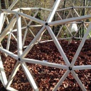 Geodome Workshop: Organische Strukturen sind unser Vorbild beim Bau der Kuppel