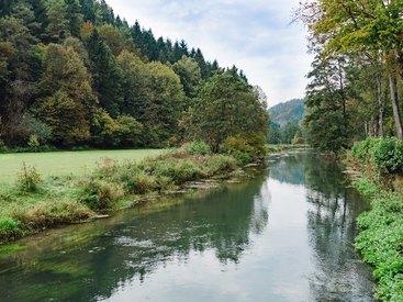 Die wunderschöne Landschaft um Waischenfeld
