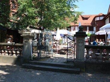 Sitzen Sie direkt am Hesperidengarten in St.Johannis in Nürnberg.