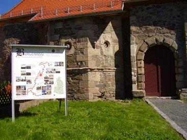 Die alte Burg in Rothenkirchen