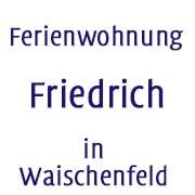 Logo Ferienwohnung Friedrich