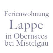 Logo Ferienwohnung Lappe