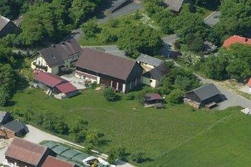 Unser Hof im Luftbild