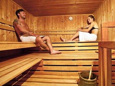 Sauna im  Hotel Goldner Stern in Muggendorf in der Fränkischen Schweiz