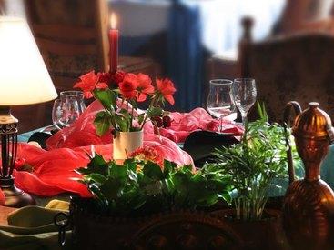 Ihr Tisch märchenhaft gedeckt