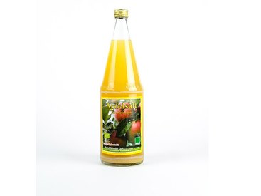 Leckerer Apfelsaft aus Streuobst