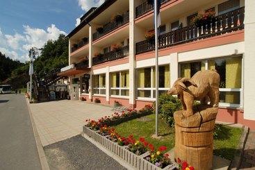 Die Hotelfront