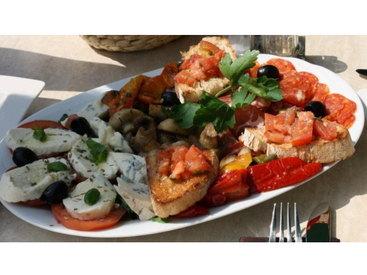 Bruschetta mit Mozzarella - Pizzeria Romantica