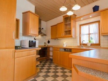 Moderne vollausgestattete Küche Fewo Hoher Berg