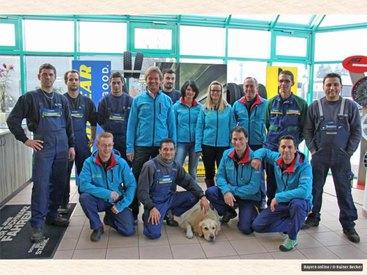 Das Team von Auto- u. Reifenservice Fastner
