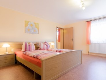 Fewo 1 Schlafzimmer im Fritzerhof in Kleingesee bei Gößweinstein in der Fränkischen Schweiz