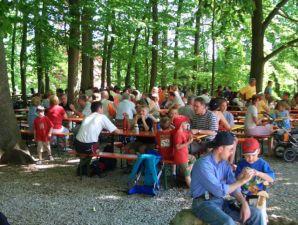Lauschiger Biergarten