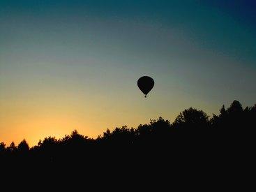 oder Sonnenuntergang.