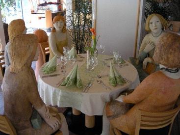 Dauergäste im Restaurant