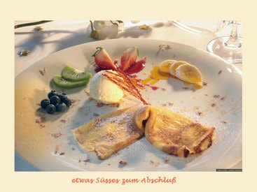 zum Abschluß - leckere Dessertvariationen