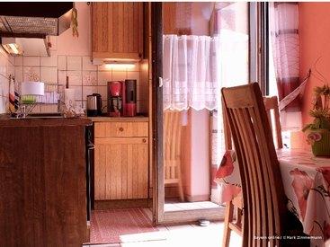 Die schöne Küche ihrer Ferienwohnung in Muggendorf