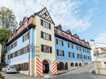 Das Hotel zur Post im wunderschönen Fachwerkhaus
