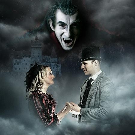 """""""Dracula"""" ist eine der berühmtesten Gruselgeschichten - Gruseldinnershow auf Burg Rabenstein"""