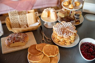 Was wir bieten: Frühstücksbuffet