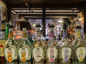 große Auswahl an Destillaten