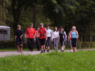 Nordic Walking in Rothenkirchen
