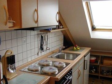 Die voll ausgestattete Küche bietet Ihnen alles das Sie brauchen