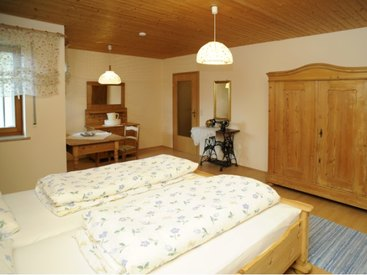 Schlafzimmer der Fewo I