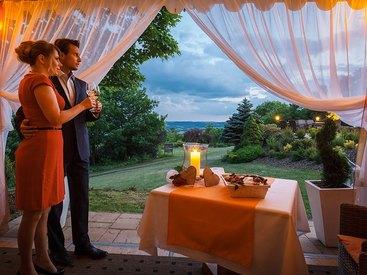 Romantikpavillon für romantische Stunden
