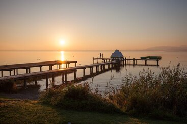 Gästehaus Grünäugl am See - See Impressionen
